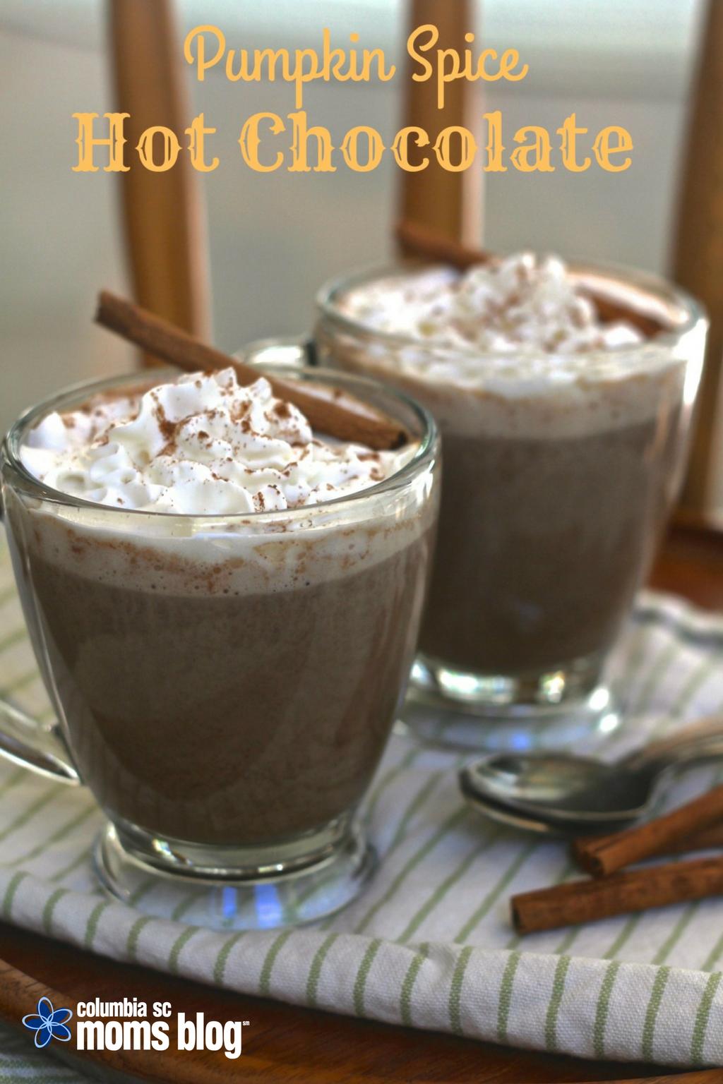 Pumpkin Spice Hot Chocolate - Columbia SC Moms Blog