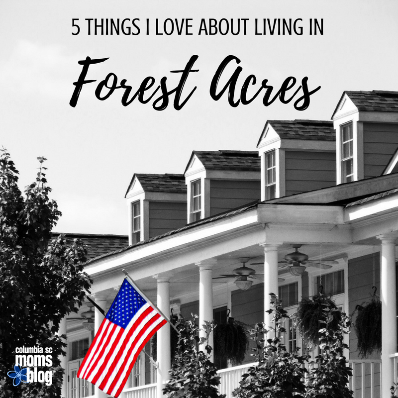 5 Things I Love About Living in Forest Acres - Columbia SC Moms Blog