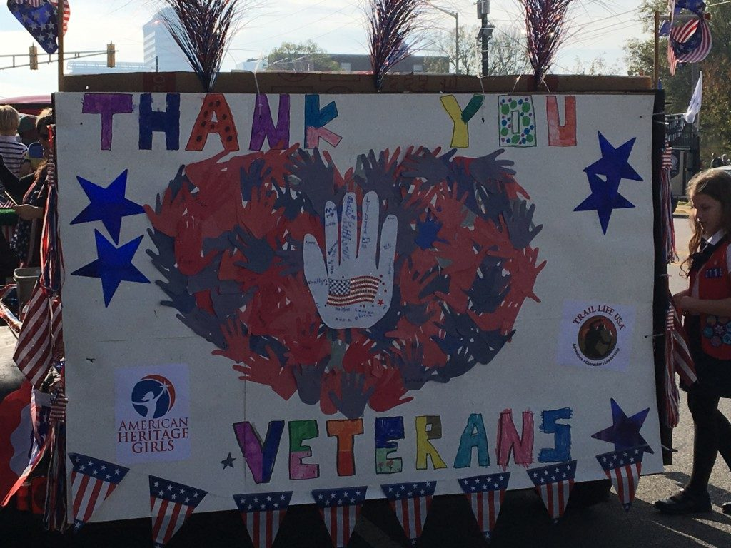 The Power of Thank You - Veterans Day - Columbia SC Moms Blog