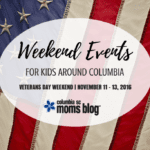 Weekend Events for Kids {Nov. 11-13}