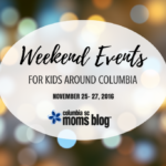 Weekend Events for Kids {Nov. 25-27}