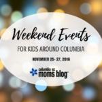Weekend Events for Kids {Nov. 25-27}