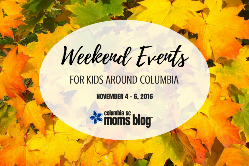 Weekend Events for Kids {Nov. 4-6}
