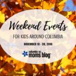 Weekend Events for Kids {Nov. 18-20}