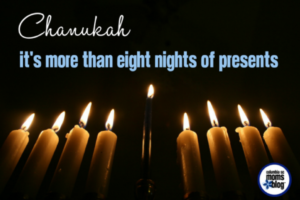 Chanukah :: It's More Than Eight Nights of Presents | Columbia SC Moms Blog