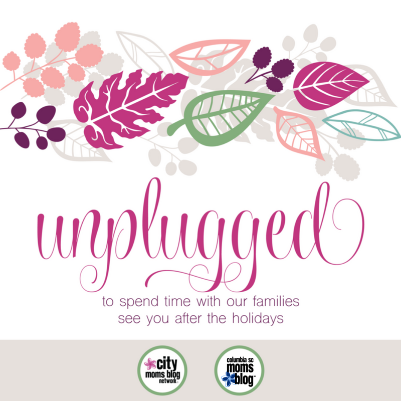 Unplugged | Columbia SC Moms Blog