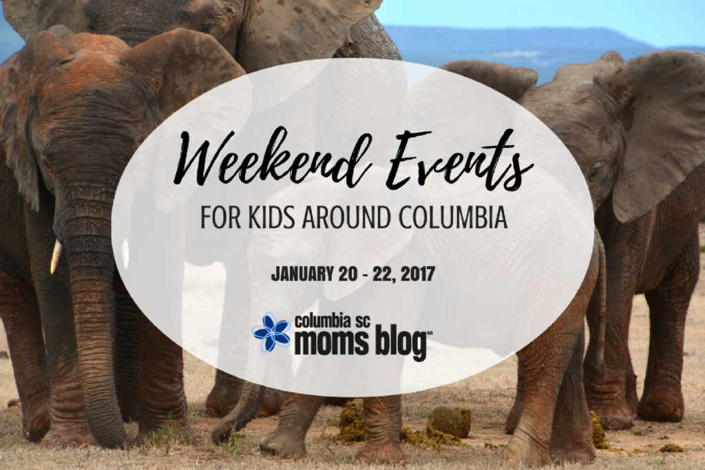 Weekend Events for Kids Around Columbia - January 20, 21, 22 - Columbia SC Moms Blog