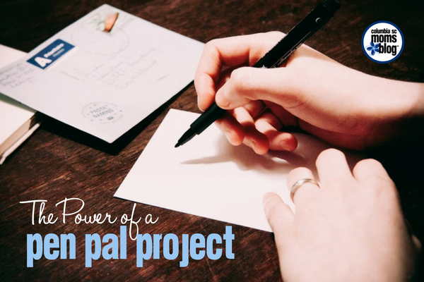 The Power of a Pen Pal Project | Columbia SC Moms Blog