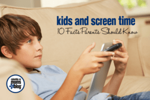 Kids and Screen Time :: 10 Facts Parents Should Know | Columbia SC Moms Blog
