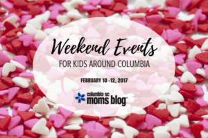 Weekend Events for Kids :: February 10 - 12 | Columbia SC Moms Blog