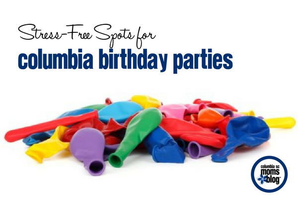 Stress-Free Spots for Columbia Birthday Parties | Columbia SC Moms Blog