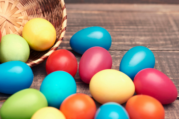 dyed easter eggs | Columbia SC Moms Blog