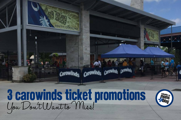 3 carowinds ticket promotions you don't want to miss | Columbia SC Moms Blog