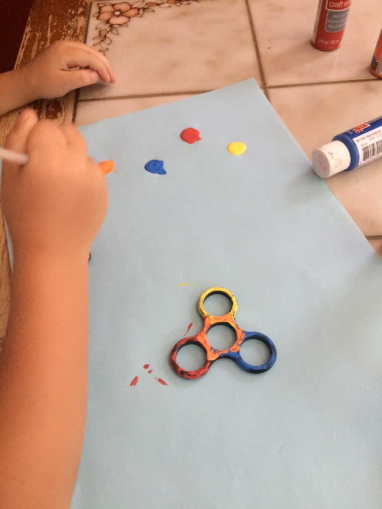Decorating Your Fidget Spinner | Columbia SC Moms Blog