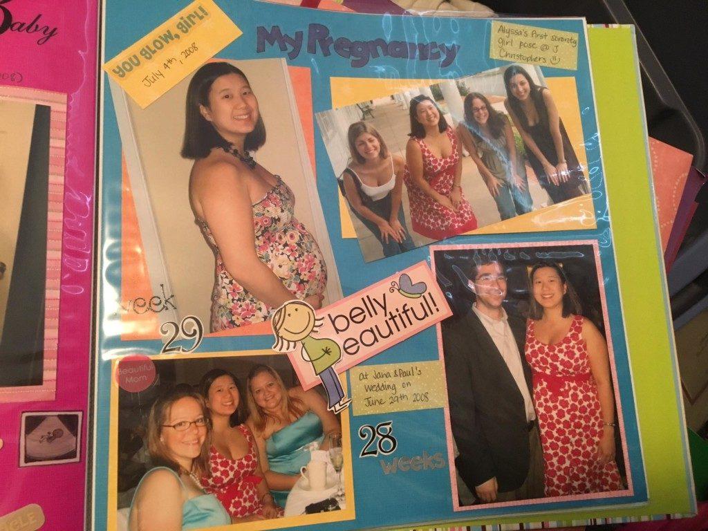 pregnancy scrapbook | Columbia SC Moms Blog