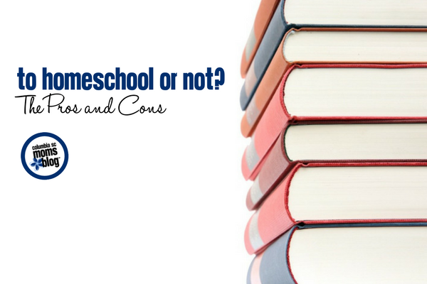 To Homeschool or Not? The Pros and Cons | Columbia SC Moms Blog