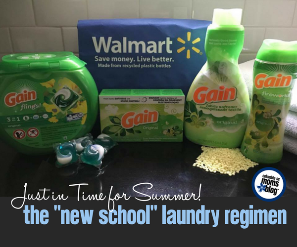 Just in Time For Summer: New School Laundry Regimen | Columbia SC Moms Blog