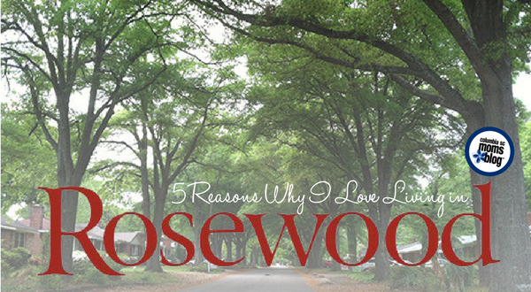 5 Reasons Why I Love Living in Rosewood | Columbia SC Moms Blog