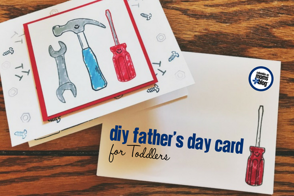 DIY Father's Day Card for Toddlers | Columbia SC Moms Blog