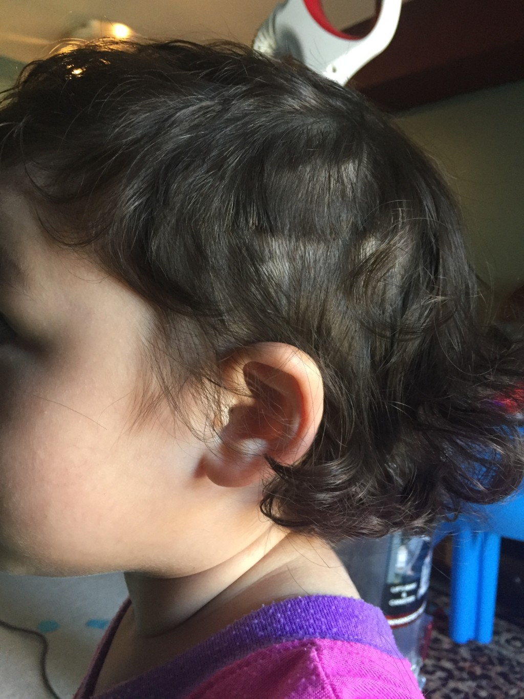cut her own hair | Columbia SC Moms Blog