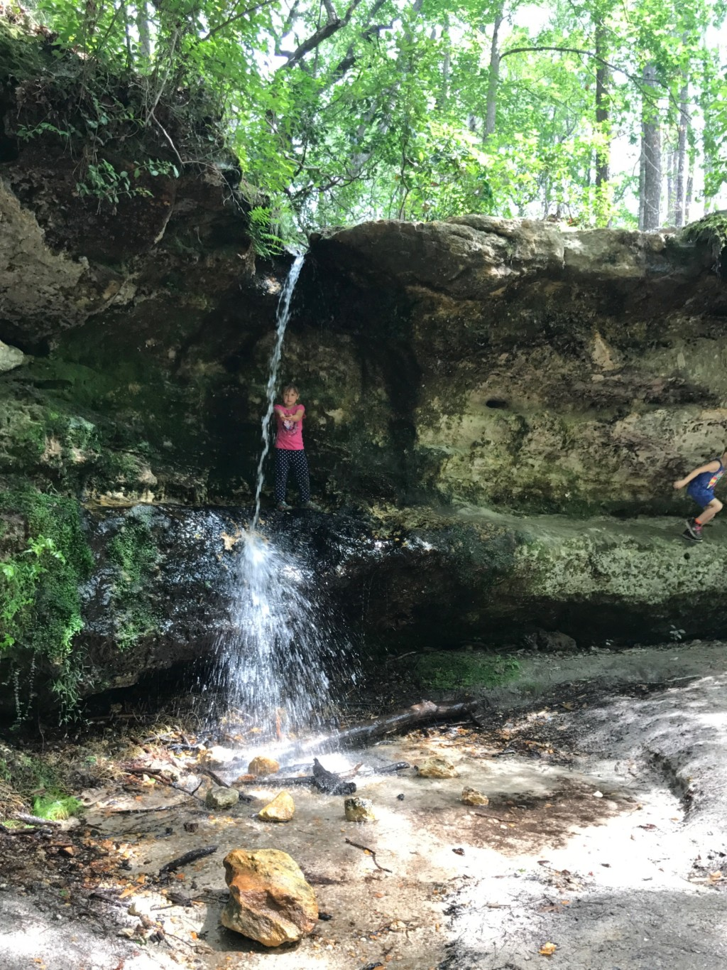 Peachtree Rock Waterfall | Columbia SC Moms Blog