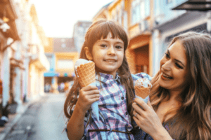 mother daughter ice cream | Columbia SC Moms Blog