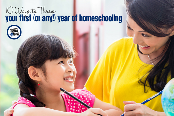10 Ways to Thrive Your First (or Any!) Year of Homeschooling | Columbia SC Moms Blog
