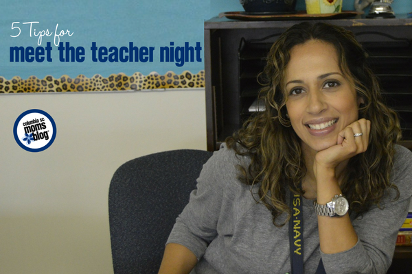 5 Tips for Meet the Teacher Night | Columbia SC Moms Blog