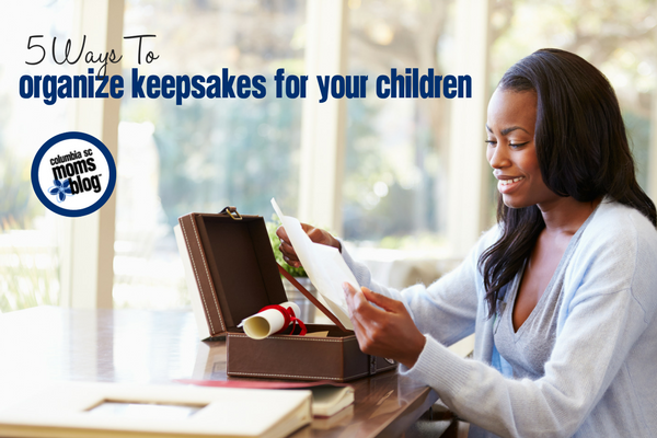 5 Ways To Organize Keepsakes For Your Children