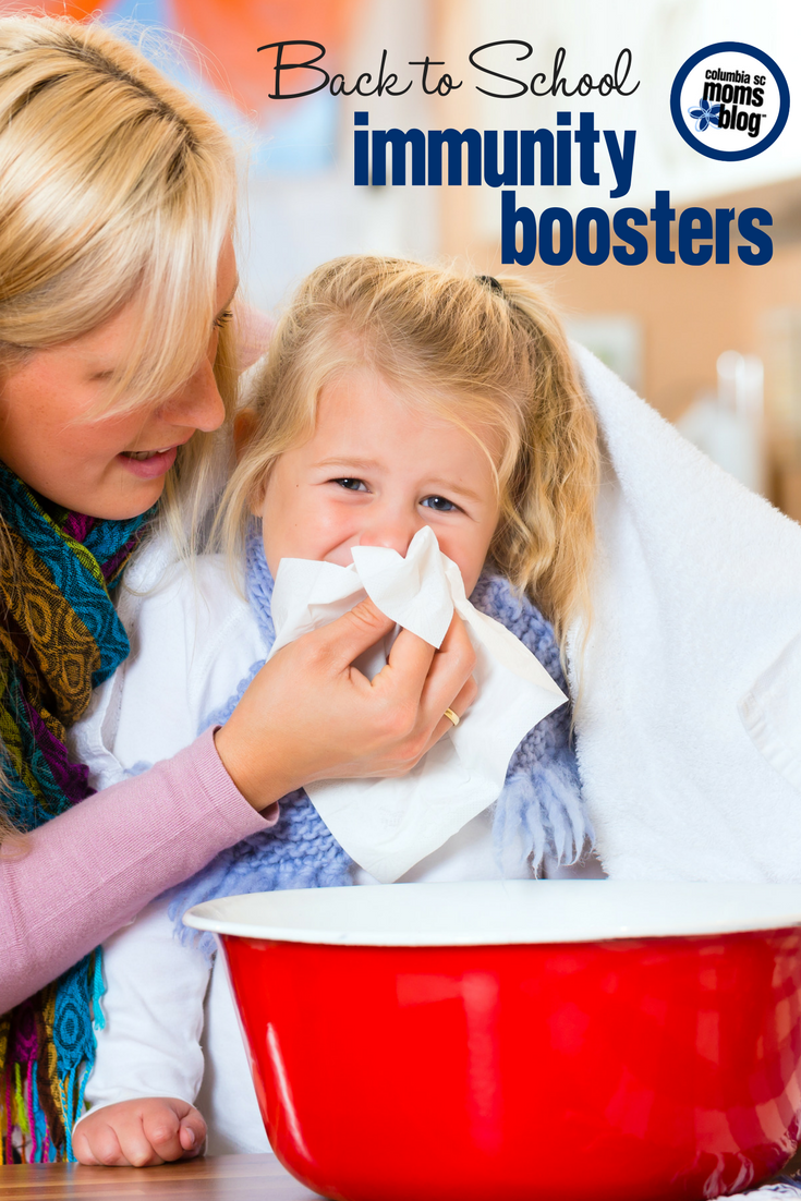 Back to School Immunity Boosters | Columbia SC Moms Blog
