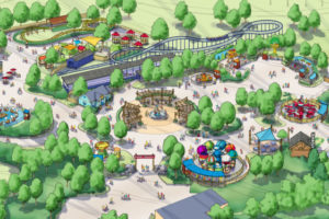 Carowinds Camp Snoopy Birdseye | Columbia SC Moms Blog
