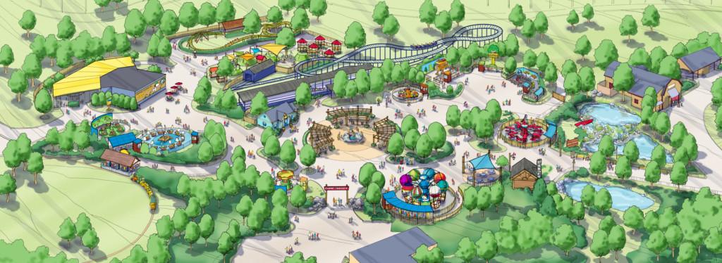 Carowinds Camp Snoopy Birdseye | Columbia SC Moms Blog