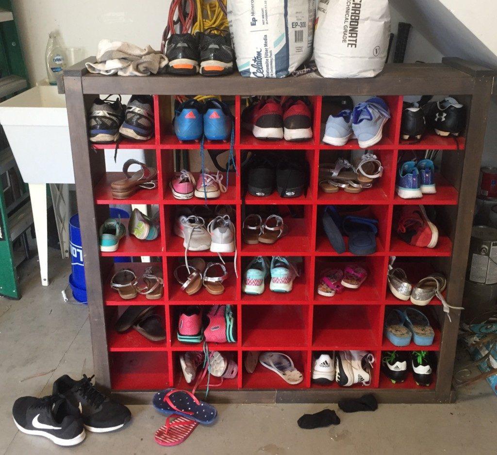 shoe organizer | Columbia SC Moms Blog
