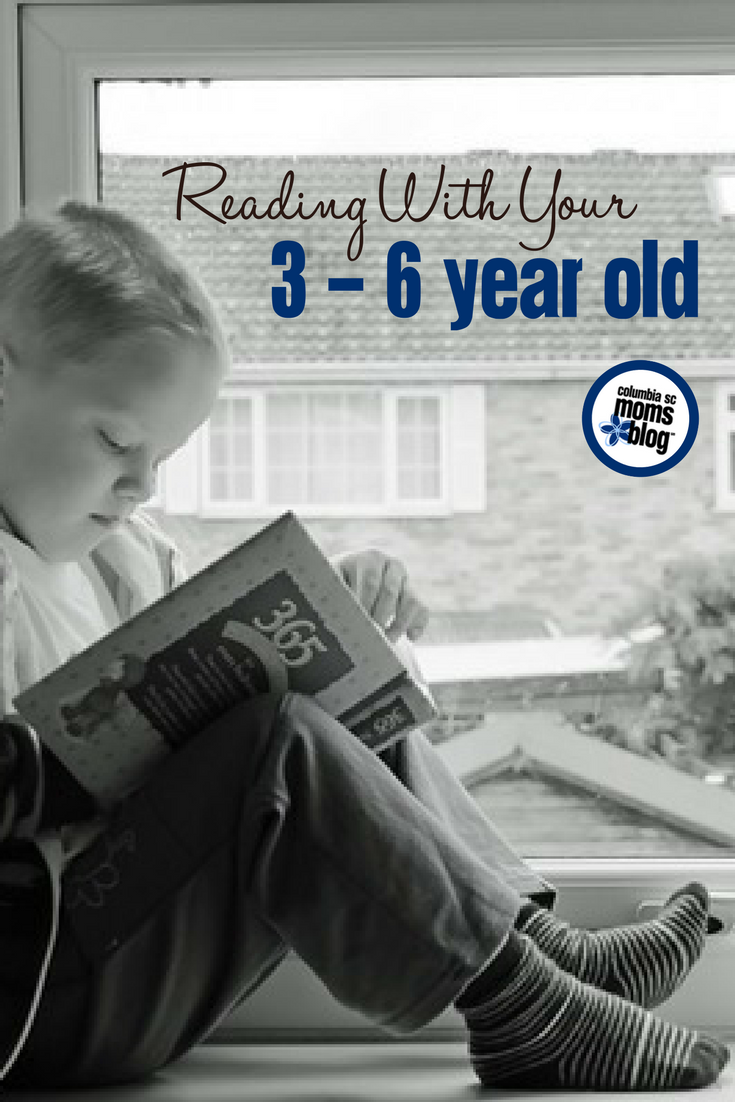 Reading With Your 3 - 6 Year Old | Columbia SC Moms Blog