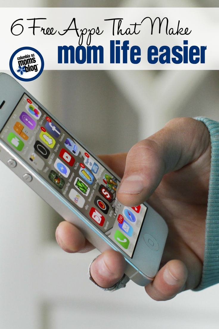 6 Free Apps That Make Mom Life Easier | Columbia SC Moms Blog