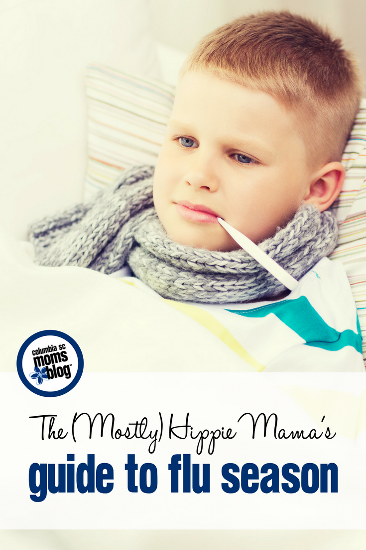 The (Mostly) Hippie Mama's Guide to Flu Season | Columbia SC Moms Blog