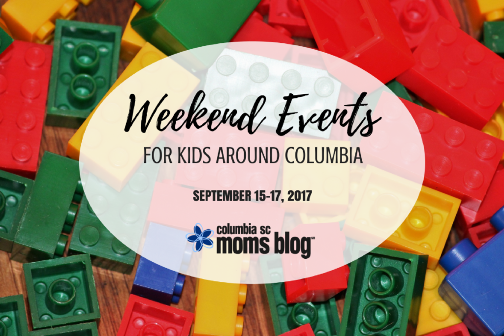 Weekend Events for Kids - September 15-17, 2017 | Columbia SC Moms Blog