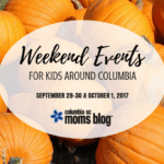 Weekend Events for Kids {September 29-30 & October 1}