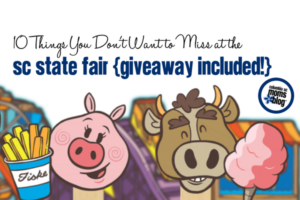 10 Things You Don't Want to Miss at the 2017 SC State Fair - ticket giveaway