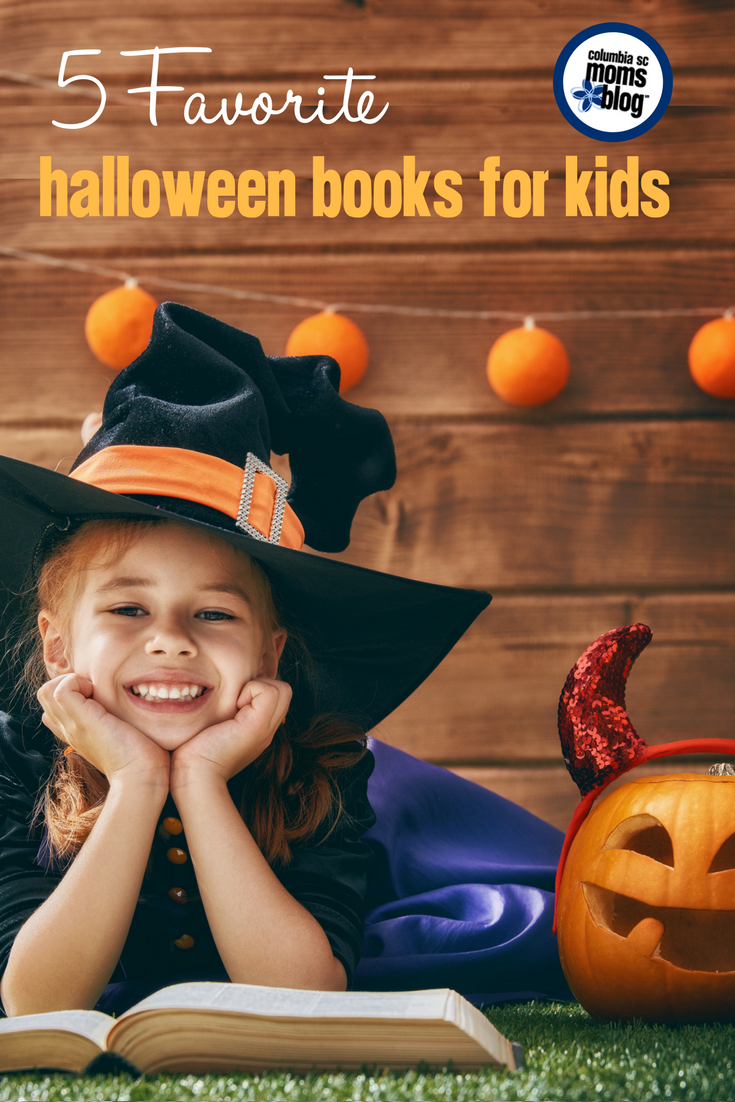 favorite halloween books for kids columbia sc moms blog