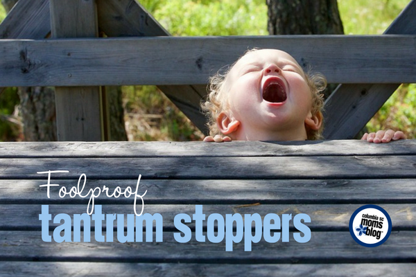 Foolproof Tantrum Stoppers | Columbia SC Moms Blog