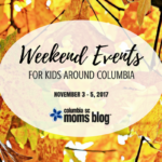 Weekend Events for Kids {November 3 – 5}