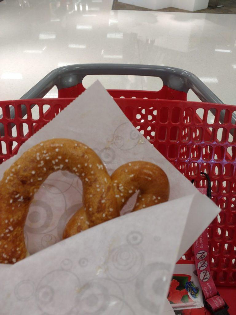 Target Cafe Pretzel | Columbia SC Moms Blog