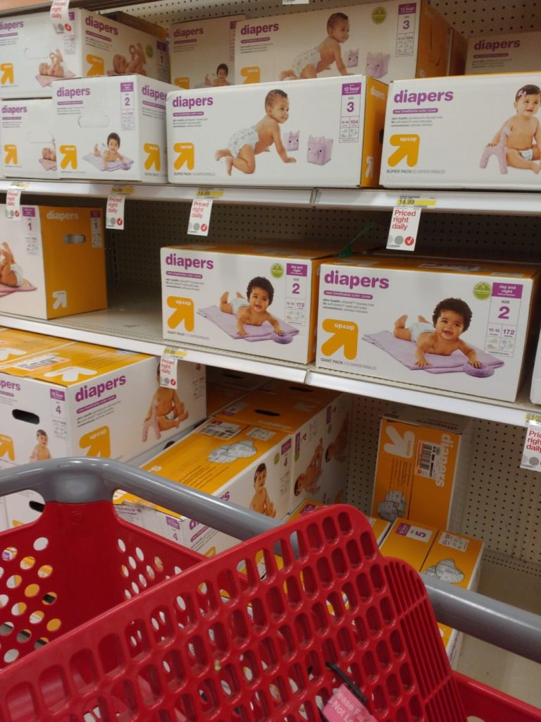 Target Up & Up Diapers | Columbia SC Moms Blog