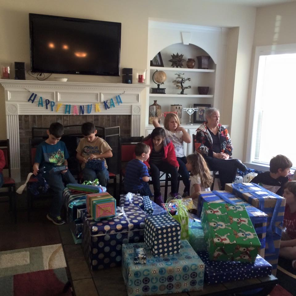 Celebrating Both Hanukkah and Christmas :: A Glimpse into our Holiday Season | Columbia SC Moms Blog