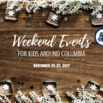 Weekend Events for Kids {November 24 – 26}