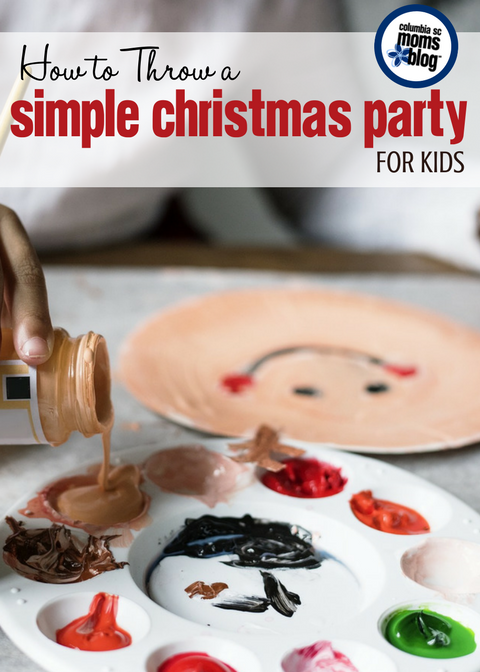 It's a Play Date! How to Throw a Simple Christmas Party for Kids | Columbia SC Moms Blog