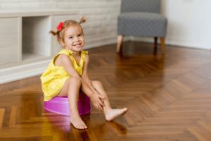 potty training girl
