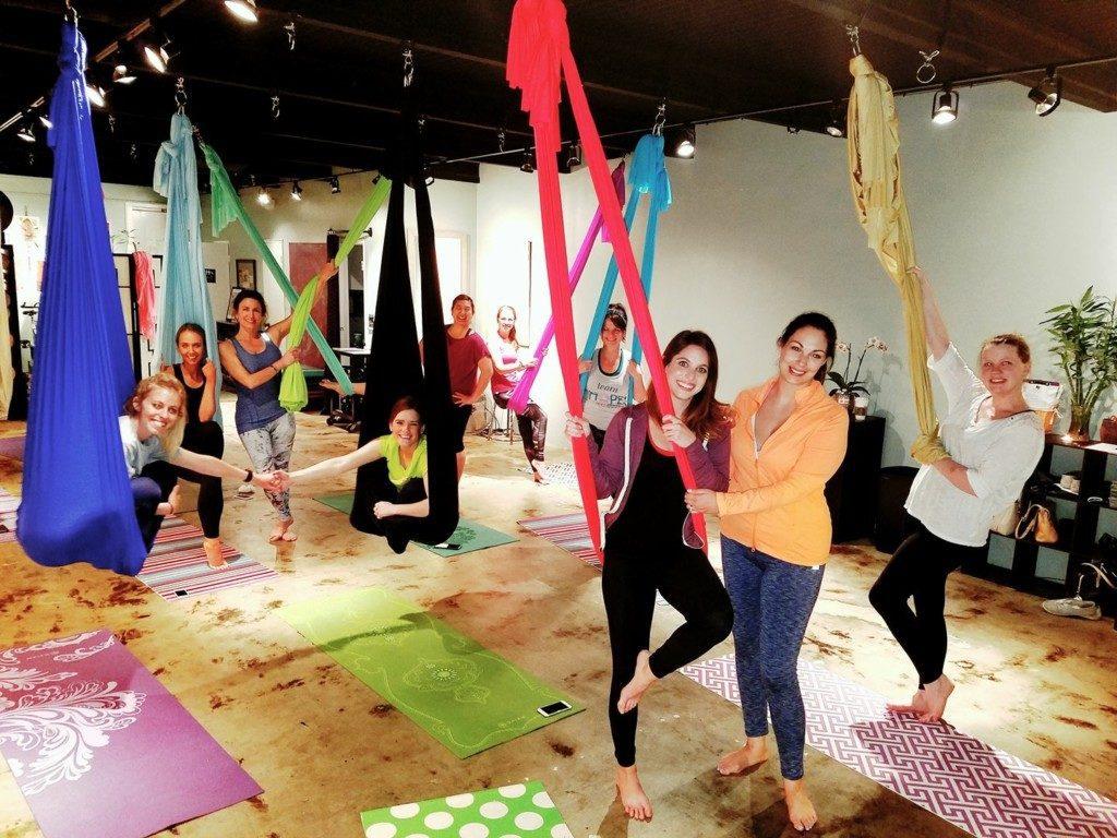 Fit Columbia Aerial Yoga | Columbia SC Moms Blog