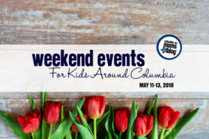 Weekend Events for Kids in Columbia - May 11-13, 2018 | Columbia SC Moms Blog